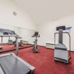 fitness center at Super 8 by Wyndham Fort Worth South